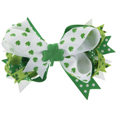 Shamrock Hair Bow