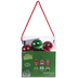 Red & Green Character Ornament Craft Kit