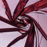 Bordeaux Foil Chiffon Fabric