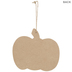 Black & White Buffalo Check Pumpkin Ornament
