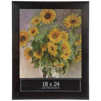 "Coffee Classic Hardwood Wall Frame - 18"" x 24"""