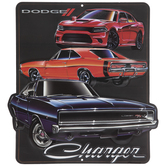 Dodge Charger Metal Sign