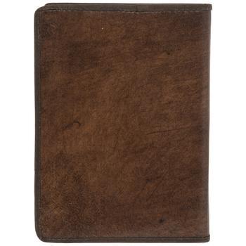 Embossed Atlas Leather Sketchbook
