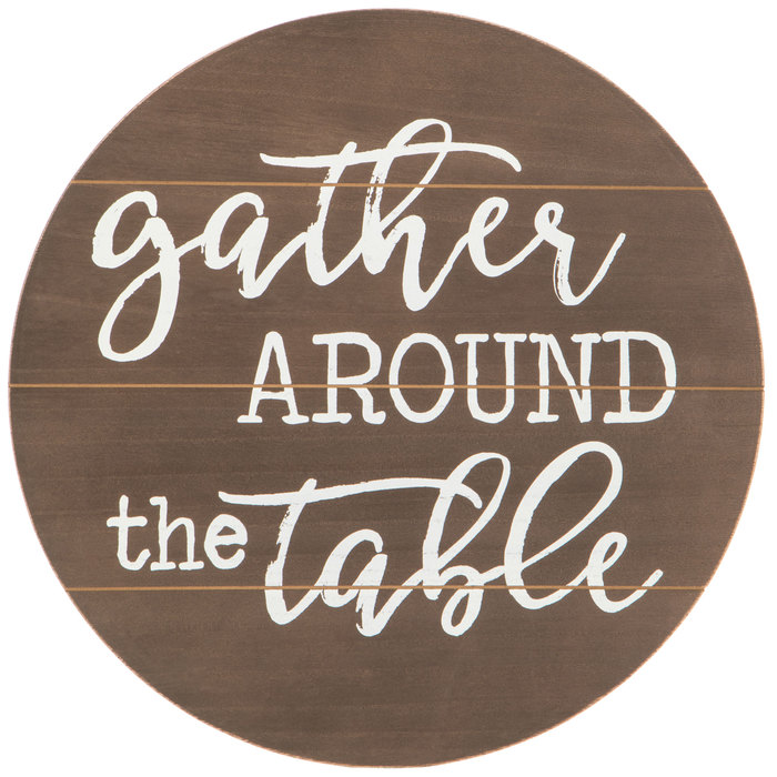 Gather Around The Table Wood Wall Decor Hobby Lobby 1645464