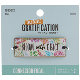 Bloom With Grace Floral Connector