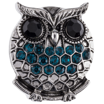 Owl Snap Charm