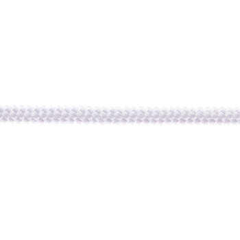 White Braided Cord Trim - Medium