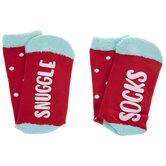 Polka Dot Snuggle Crew Socks