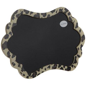 Leopard Print Chalkboard