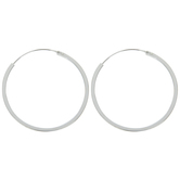Sterling Silver Hoop Earrings - 30mm
