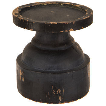 Distressed Chunky Candle Holder