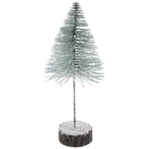 Mint Green Frosted Sisal Tree