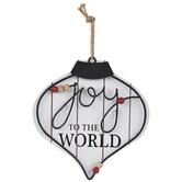 Joy To The World Wreath Ornament