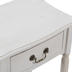 Whitewash Wood Side Table With Drawer