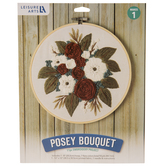 Posey Bouquet Embroidery Kit