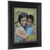 Black & Silver Trim Wood Wall Frame - 10