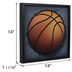 Basketball Pop-Up Wood Wall Decor