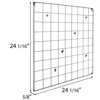 Square Metal Wire Memo Board
