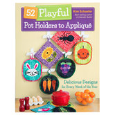 Playful Pot Holders To Applique
