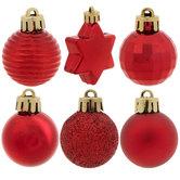 Matte, Shine & Glitter Mini Ornaments