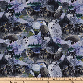 Call Of The Wild Cotton Calico Fabric