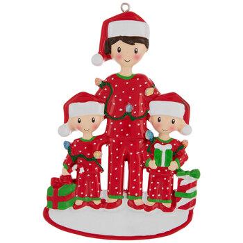 Dad & Children Personalized Ornament