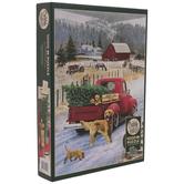 Christmas On The Farm Puzzle