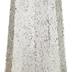 Silver & White Glitter Cone Tree - 48