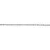 Silver Metallic Twisted Cord - 1/16
