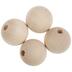 Round Wood Beads - 38mm