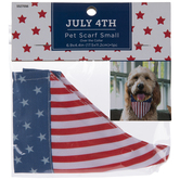 American Flag Pet Scarf