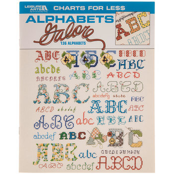 Alphabets Galore Cross Stitch