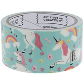 Unicorns & Flowers Art Project Tape
