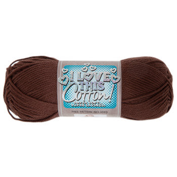 Brown I Love This Cotton Yarn