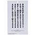 Black Adhesive Letters - 3 1/2