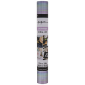Pastel Striped Shimmer Iron-On Transfer