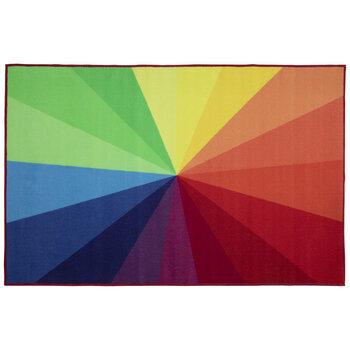 Rainbow Gradient Rug