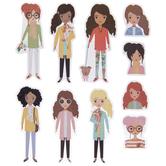 Stylish Girls Stickers