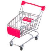 Mini Metal Shopping Cart