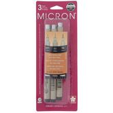 Black Micron Archival Ink Pens - 3 Piece Set