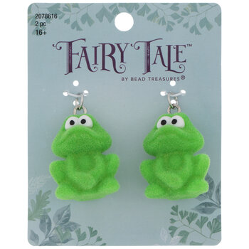 Fuzzy Frog Charms