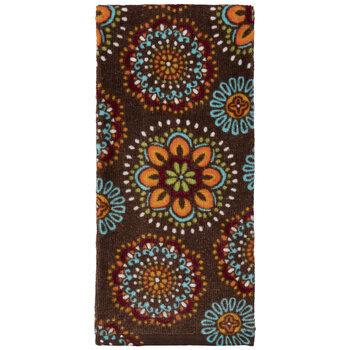 Floral Medallion Kitchen Towel