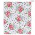 Floral & Polka Dot Post Bound Scrapbook Album - 8 1/2