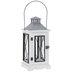 White & Black Wood Lantern