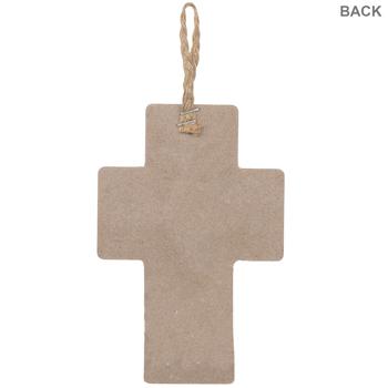 Grace Upon Grace Wood Wall Cross