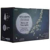 Micro LED Cascade Tree Lights