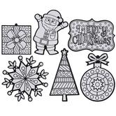 Fuzzy Art Ornaments Craft Kit