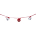 Red & White Jingle Bell Garland