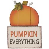 Pumpkin Everything Wood Decor