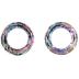 Crystal Vitrail Light Cosmic Rings - 14mm